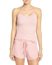 Barefoot Dreams - Barefoot Dreams Luxe Lounge Camisole - Lyst