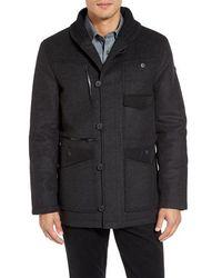 Victorinox - Victorinox Swiss Army Masonry Limited Edition Wool Blend Coat - Lyst