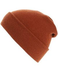 Norse Projects - Cashmere Beanie - Burgundy - Lyst