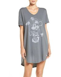 Munki Munki - Minnie Mouse Sleep Shirt - Lyst