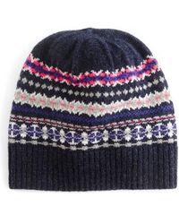 J.Crew | Fair Isle Merino Wool Hat | Lyst