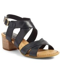 Børn - B?rn Alisha Block Heel Sandal - Lyst