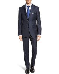 JB Britches - Classic Fit Solid Wool Suit - Lyst