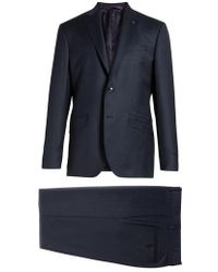 Ted Baker - Jones Trim Fit Solid Wool Suit - Lyst