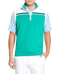 Bobby Jones - Xh2o Stretch Quarter Zip Golf Vest - Lyst