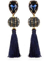 Suzanna Dai - Lisboa Small Tassel Gumball Drop Earrings - Lyst