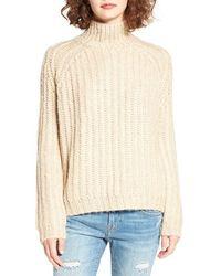 Blank - Mock Neck Sweater - Lyst