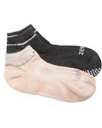 Zella - 2-pack Barre Socks - Lyst