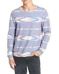Sol Angeles - Sunset Ikat Crewneck Pullover - Lyst