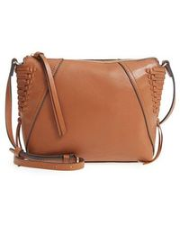 Vince Camuto - Ilda Leather Crossbody Bag - Lyst