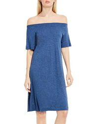 Two By Vince Camuto - Off The Shoulder Knit Dress - Lyst