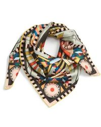 Givenchy - Egyptian Wings Square Scarf - Lyst