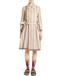Undercover - Piano Print Trench Coat - Lyst