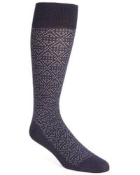Calibrate - Plaited Triangle Socks - Lyst