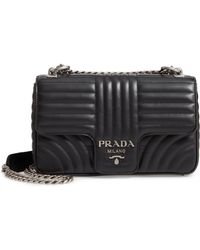 cb263910ec436c Prada Women's Diagramme Mini Bag - White in White - Lyst