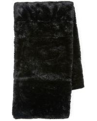 TOPMAN - Faux Fur Scarf - Lyst