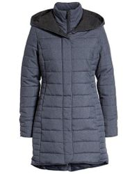 Maralyn & Me - Water-resistant Quilted Hooded Jacket - Lyst