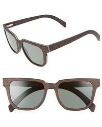 Shwood - Prescott 52mm Polarized Walnut Wood Sunglasses - - Lyst