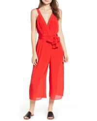 The Fifth Label - Gilded Surplice Jumpsuit - Lyst