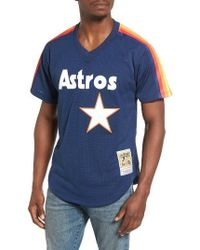 Lyst Mitchell Ness Craig Biggio Houston Astros Authentic Mesh