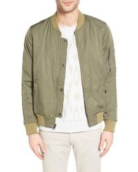 Outerknown - Evolution Classic Fit Flight Jacket - Lyst