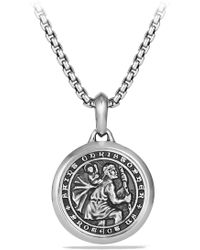 David Yurman Petrvs St. Christopher Amulet