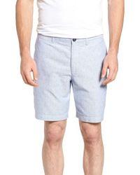 Original Penguin - Dobby Dot Slim Fit Oxford Shorts - Lyst