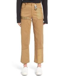 Hyein Seo - Embroidered Work Pants - Lyst