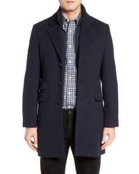 Cardinal Of Canada - Leclair Wool & Cashmere Topcoat - Lyst