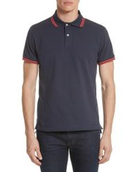 Todd Snyder - + Champion Tipped Pique Polo - Lyst