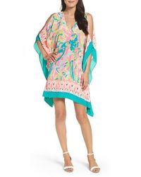 Lilly Pulitzer - Lilly Pulitzer Atlin Cold Shoulder Caftan - Lyst