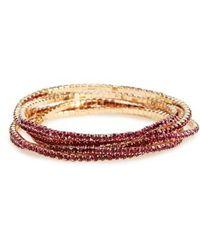 Panacea Pack Of 6 Stretch Bracelets Lyst