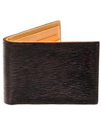 Magnanni - Slim Leather Bifold Wallet - - Lyst