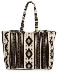 Amuse Society - Nash Woven Tote - Lyst