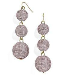 BaubleBar - Shimmer Crispin Drop Earrings - Lyst