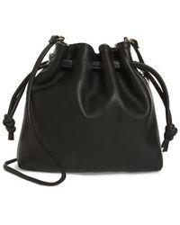 Clare V. - Henri Leather Bucket Bag - Lyst