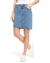 Mavi Jeans | Mila Denim Skirt | Lyst