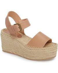 Soludos | Platform Wedge Sandal | Lyst