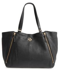 Tory Burch | Ivy Leather Tote | Lyst