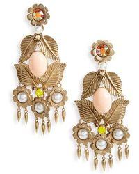Loren Hope - Ivy Crystal Chandelier Earrings - Lyst