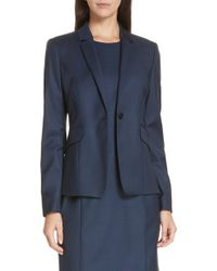 BOSS - Jagita Suit Jacket - Lyst