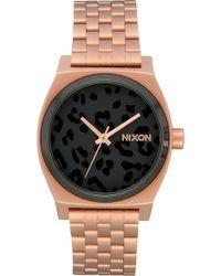 Nixon - The Time Teller Bracelet Watch - Lyst