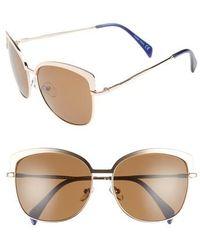 Draper James - 60mm Cat Eye Sunglasses - - Lyst
