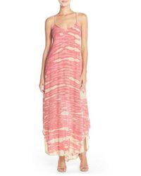 Fraiche By J | Tie-Dye A-Line Maxi Dress | Lyst