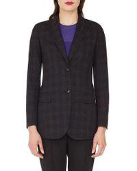 Akris - Speckled Wool Tweed Blazer - Lyst