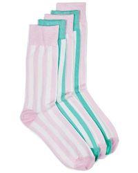 TOPMAN - Stripe Socks - Lyst