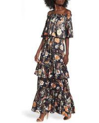 ARRIVE - Cleo Off The Shoulder Maxi Dress - Lyst