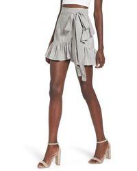 ARRIVE - Vienna Ruffle Wrap Skirt - Lyst