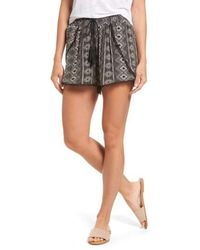 Dex - Print Drawstring Shorts - Lyst