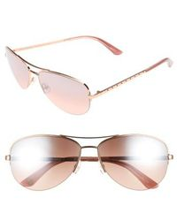 Juicy Couture | Shades Of Couture By 60mm Gradient Aviator Sunglasses | Lyst